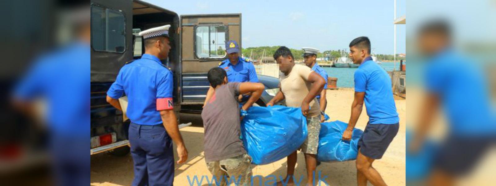 79kg of Kerala ganja seized by Navy