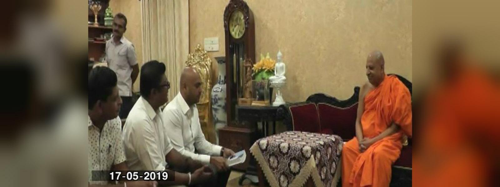 TCMOL officials calls on Malwatte and Asgiriya Chief Prelates