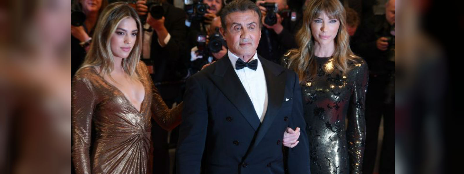 Action superstar Sylvester Stallone celebrated at Cannes