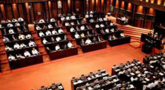 Parliament convenes today to extend emergency