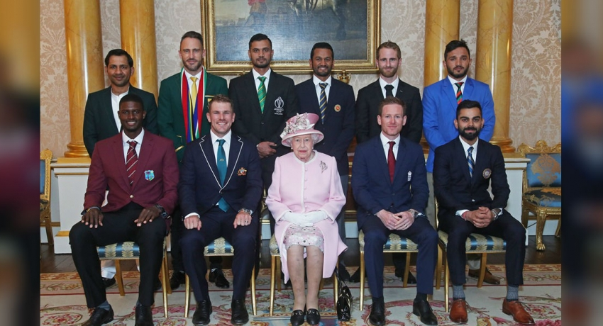 World Cup captains get royal hospitality on eve of tournament