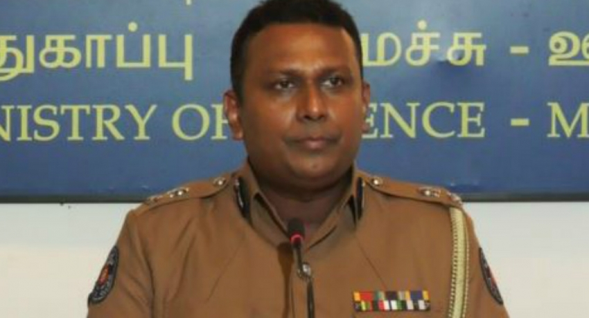 Special STF Security to NEC office in Rajagiriya