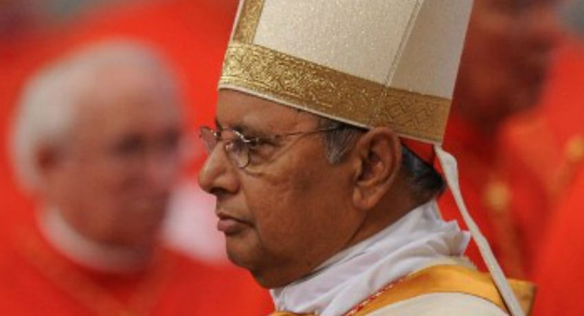 Cardinal Ranjith visiting Rome recalls the terror attack two months ago