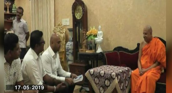 TCMOL officials calls on Malwatte and Asgiriya Chief Prelates