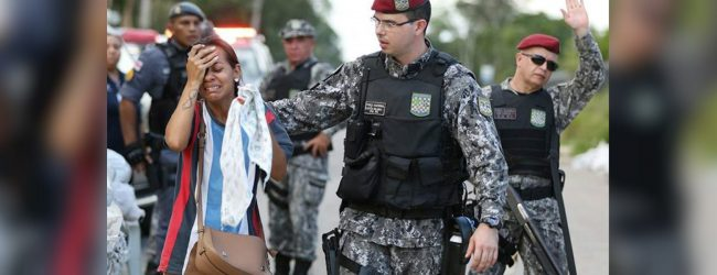 Prison gang clashes leave dozens dead over past two days in Brazil
