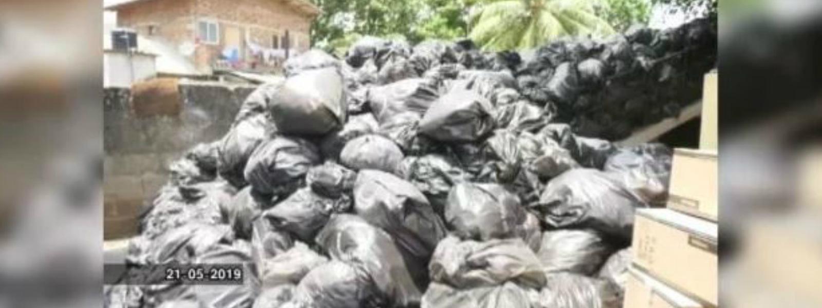 Kurunegala hospital garbage to be disposed