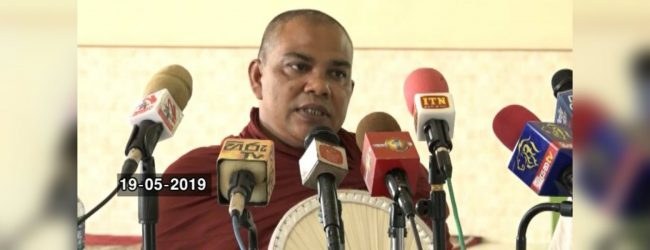 Religious leaders from Minuwangoda speak on the recent unrest