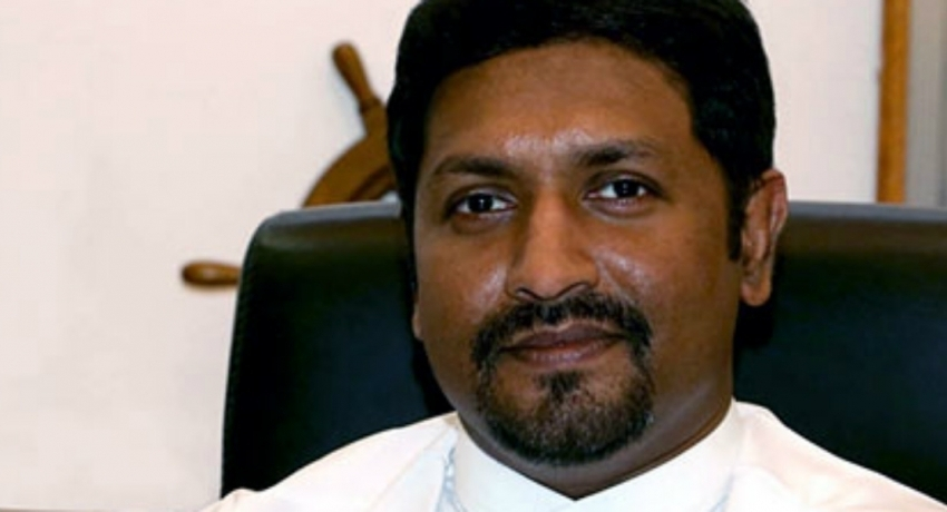 President leaves for China. Ruwan Wijewardena appointed acting Defence Minister