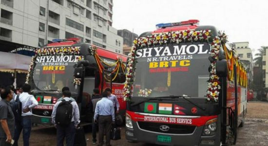 India, Bangladesh tourists welcome launch of new bus service