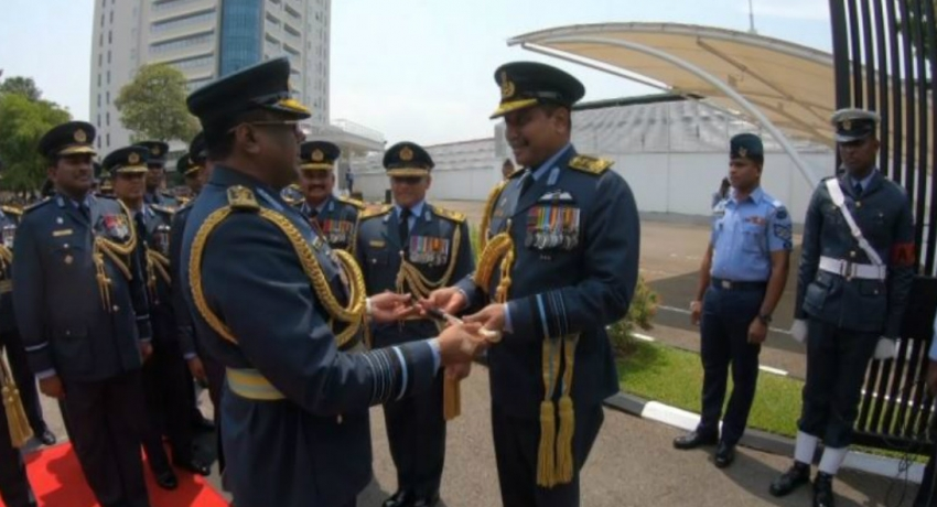 Former Air Force Commander hands over duties