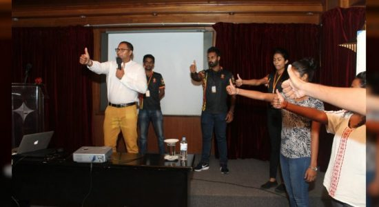 V-Force leadership training program; the path to mould future leaders