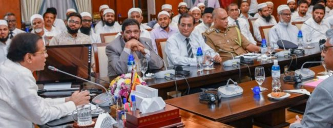 Muslim civil organizations says they extend their fullest support to eliminate terrorism