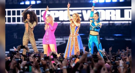 Long awaited Spice Girls reunion opens in Dublin