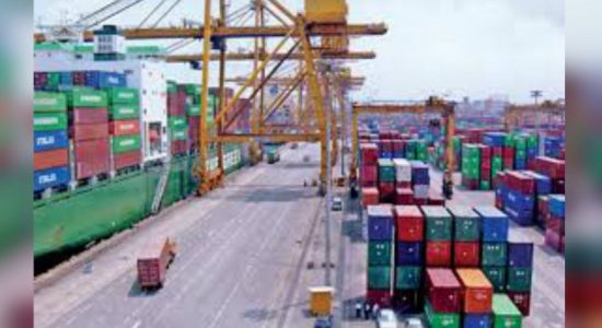 Advanced talks with India and Japan to construct a container terminal at Colombo port