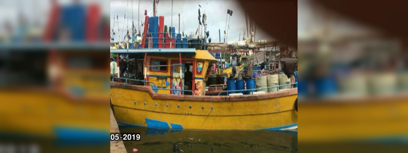 Fishing trawler missing after storm