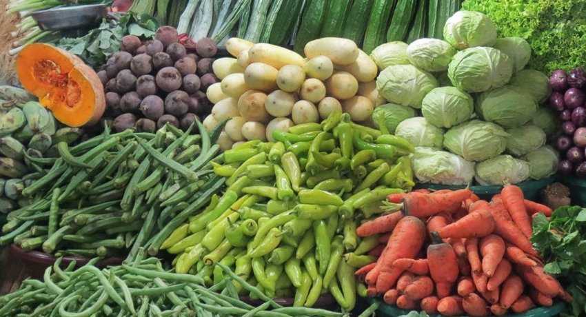 100% price hike for vegetables