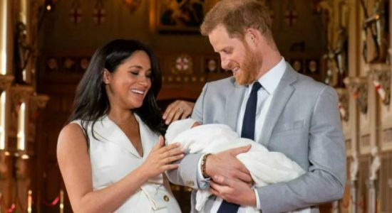 Prince Harry and Meghan name baby son Archie