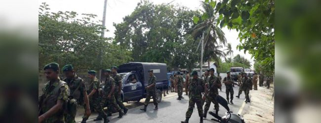 STF recovers ammunition during island wide raids