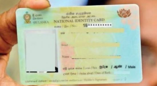 People obtaining NIC's double : Department of Registration of Persons