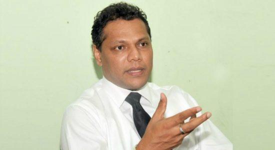 Dayasiri questions inaction against Jaya Sudhir Jayaram