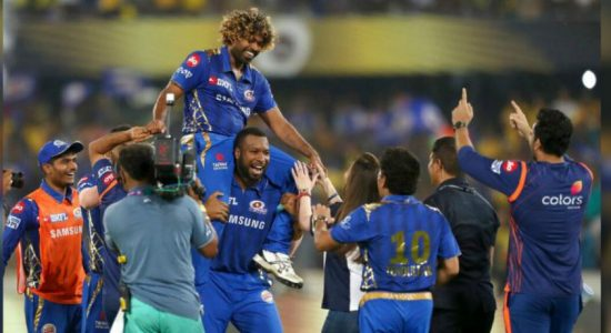 Malinga ensures 4th IPL victory for Mumbai Indians