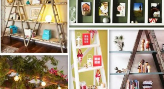 5 Ways to Decorate With Vintage Ladders…