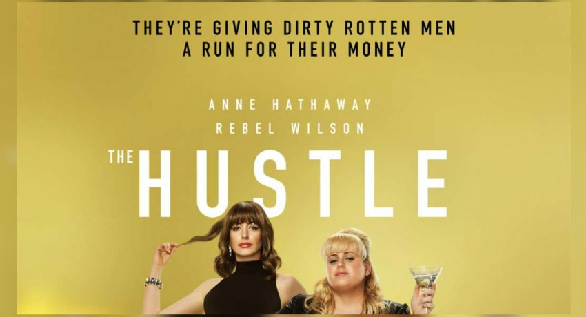 """The Hustle"" hits cinemas on May 10th"