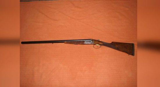 12-gauge shotgun seized with 2 suspects