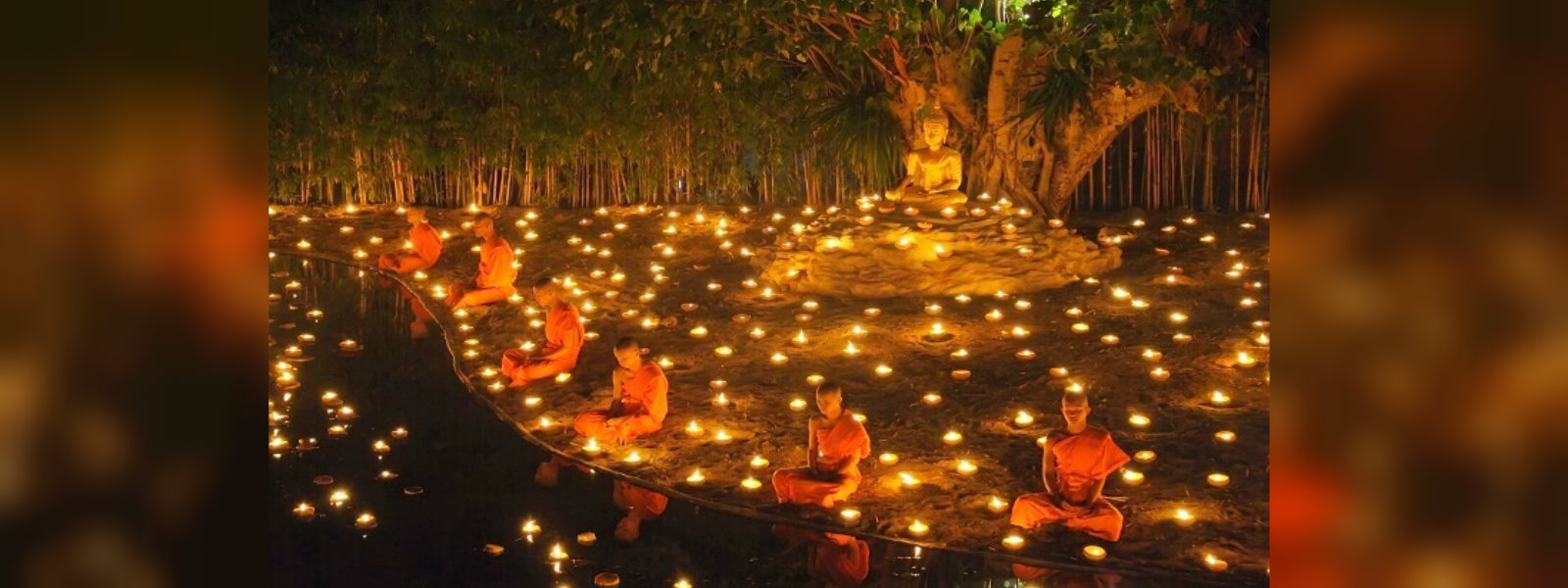 State Vesak ceremony at Temple Trees today