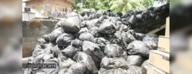 Kurunegala hospital garbage to be disposed