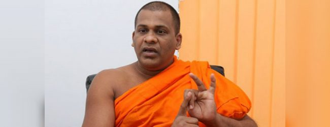 Venerable Gnanasara Thero meets President