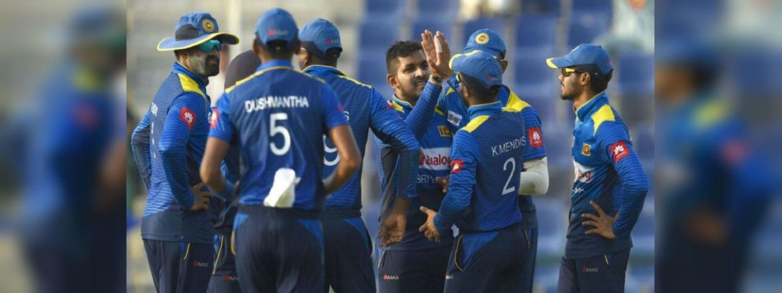 Captain leads Sri Lanka to a good win