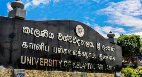 University of Kelaniya closed down until further notice