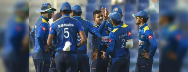 Captain leads Sri Lanka to a good win