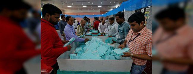 Modi on track for landslide victory