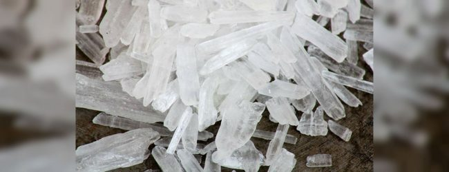 923g of ICE taken into custody in Mannar