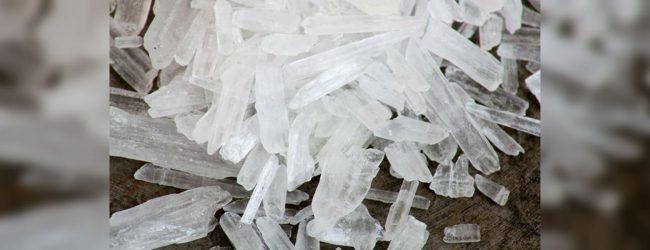 923g of ICE taken into custody in Mannar