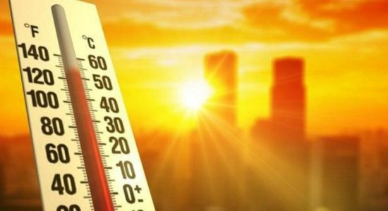 Extreme heat in North and East during the day
