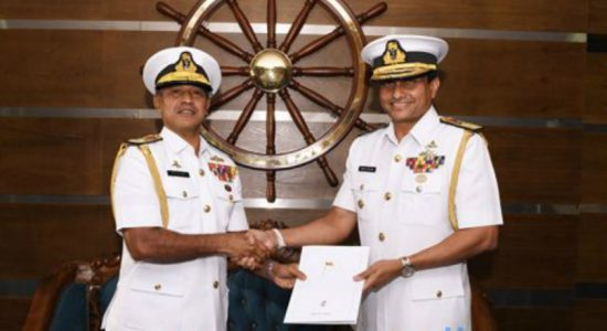Rear Admiral Nishantha Ulugetenne appointed as Chief of Staff of Sri Lanka Navy