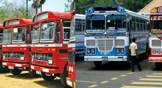 Hatton-Kandy buses on strike