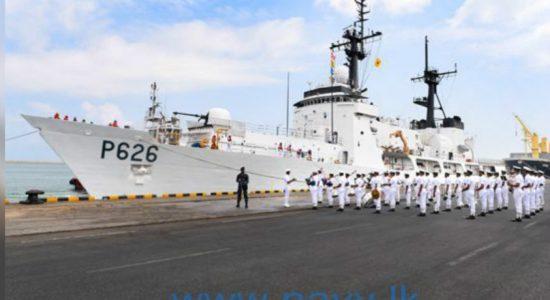 "Ex-United States Coast Guard cutter ""Sherman"" joins Sri Lanka Navy"