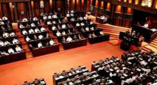 Adjournment motion debate in parliament on May 7th and 8th