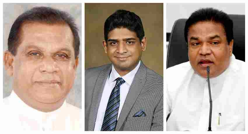 Two new ministers and a state minister sworn in