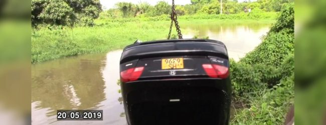 Car with body found at the bottom of Godawela canal