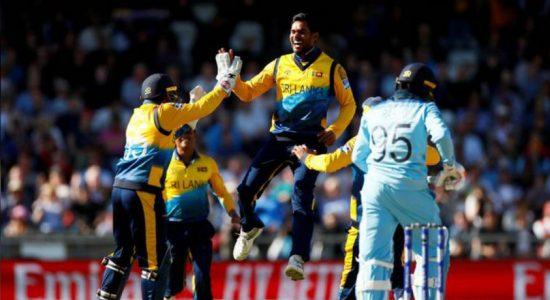 ICC Cricket World Cup: Sri Lanka shock hosts England
