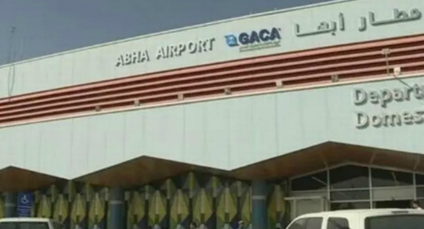 Houthi missile strike on Saudi Arabia's Abha airport wounds 26