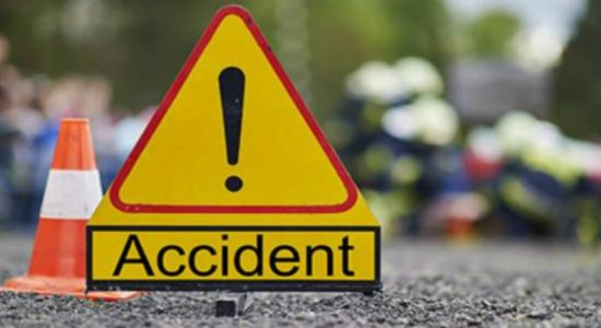 Accident near 13th mile post in Southern Expressway