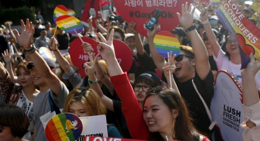 South Korea's LGBT supporters demands for equality