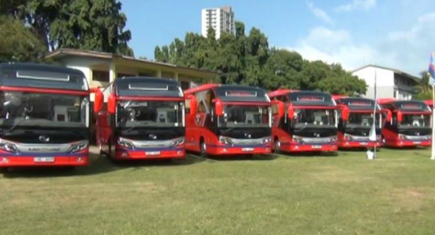 Sri Lanka Transport Board receives 9 luxury buses
