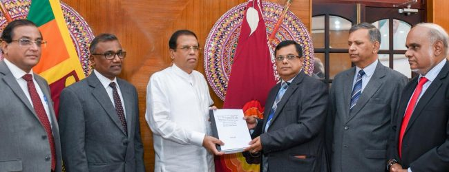 Report on April 21st terror attack handed over to President